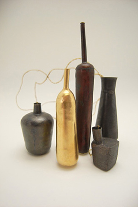 Bottles / Brooch, Earring, Pendant / Yuki Sumiya [contemporary jewellery and object]
