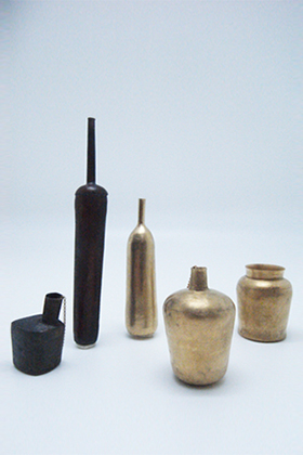 Bottles / Brooch, Earring / Yuki Sumiya [contemporary jewellery and object]