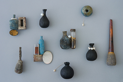 Vessels / object/vase, Brooch / Yuki Sumiya [contemporary jewellery and object]